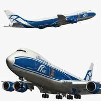 boeing air bridge cargo 3D model