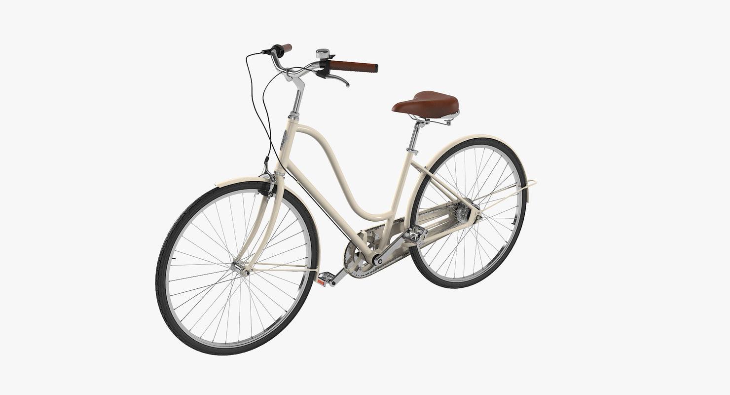 3D women s bike
