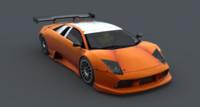 3D lamborgini model