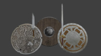 weapons 3D model
