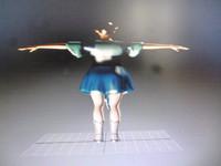 elf woman games 3D model