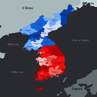 korean peninsula model