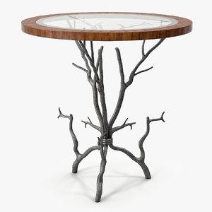 3D theodore alexander arbore occasional model