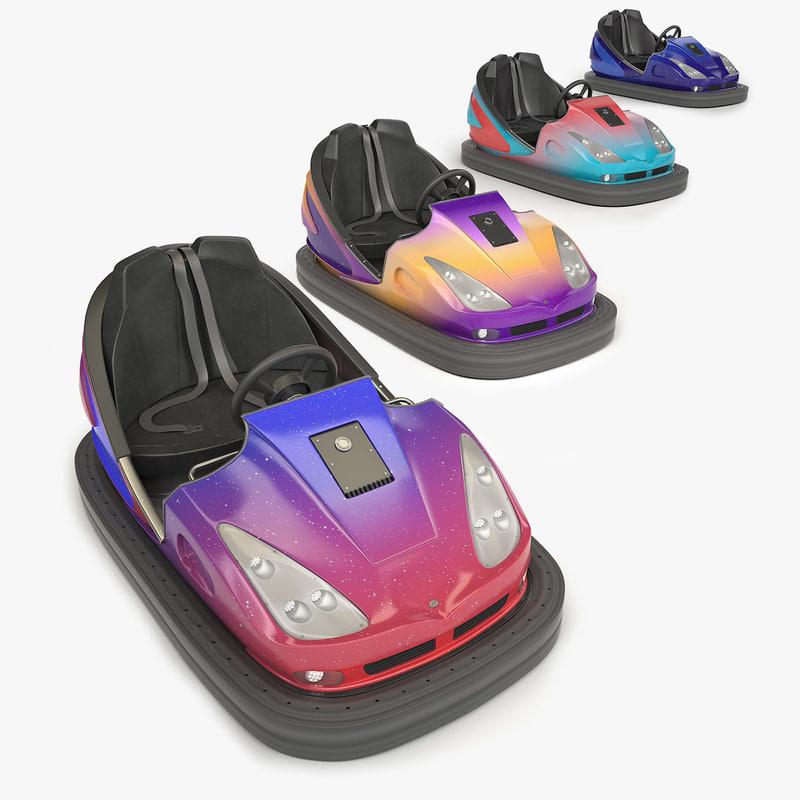3D bumper car