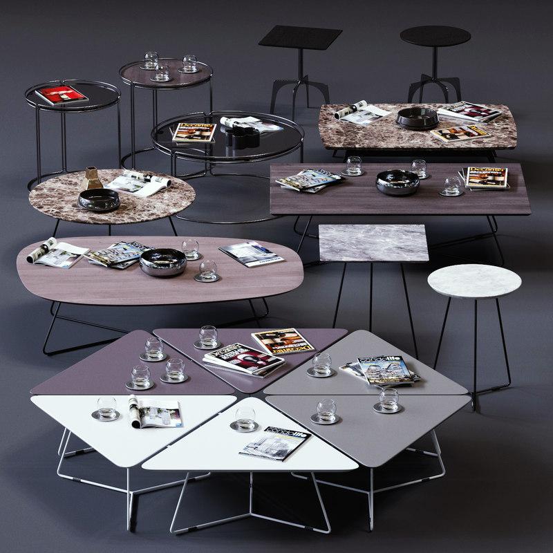 ditre italia coffee tables 3D