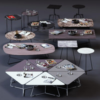 ditre italia coffee tables 3D