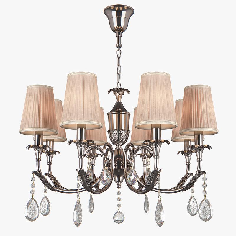 3D chandelier 691084 cappa osgona model