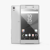 sony xperia z5 white 3D model