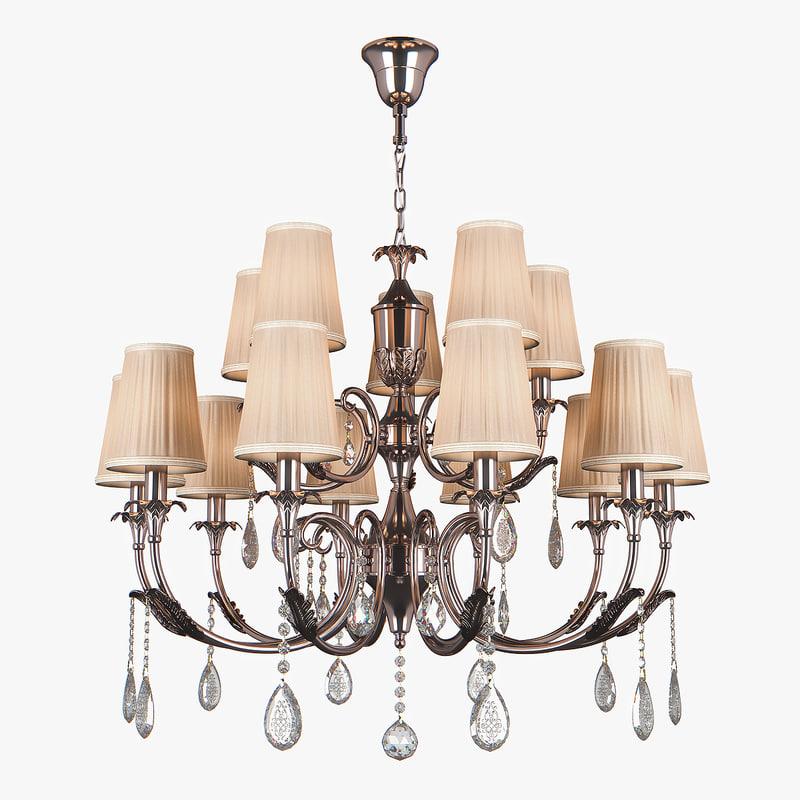 chandelier cappa osgona 3D model