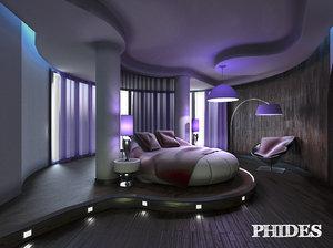 bedroom 2 3D