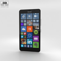 3D microsoft xl lumia model