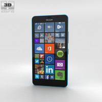 microsoft xl lumia 3D model