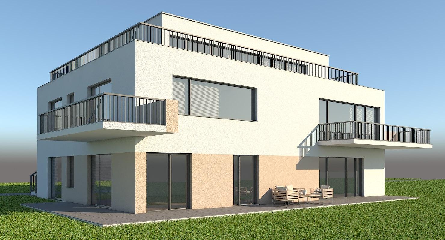 apartment house model