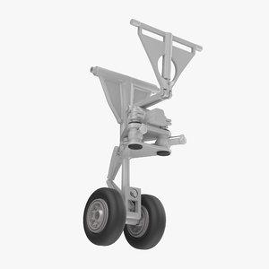 3D boeing landing gear model