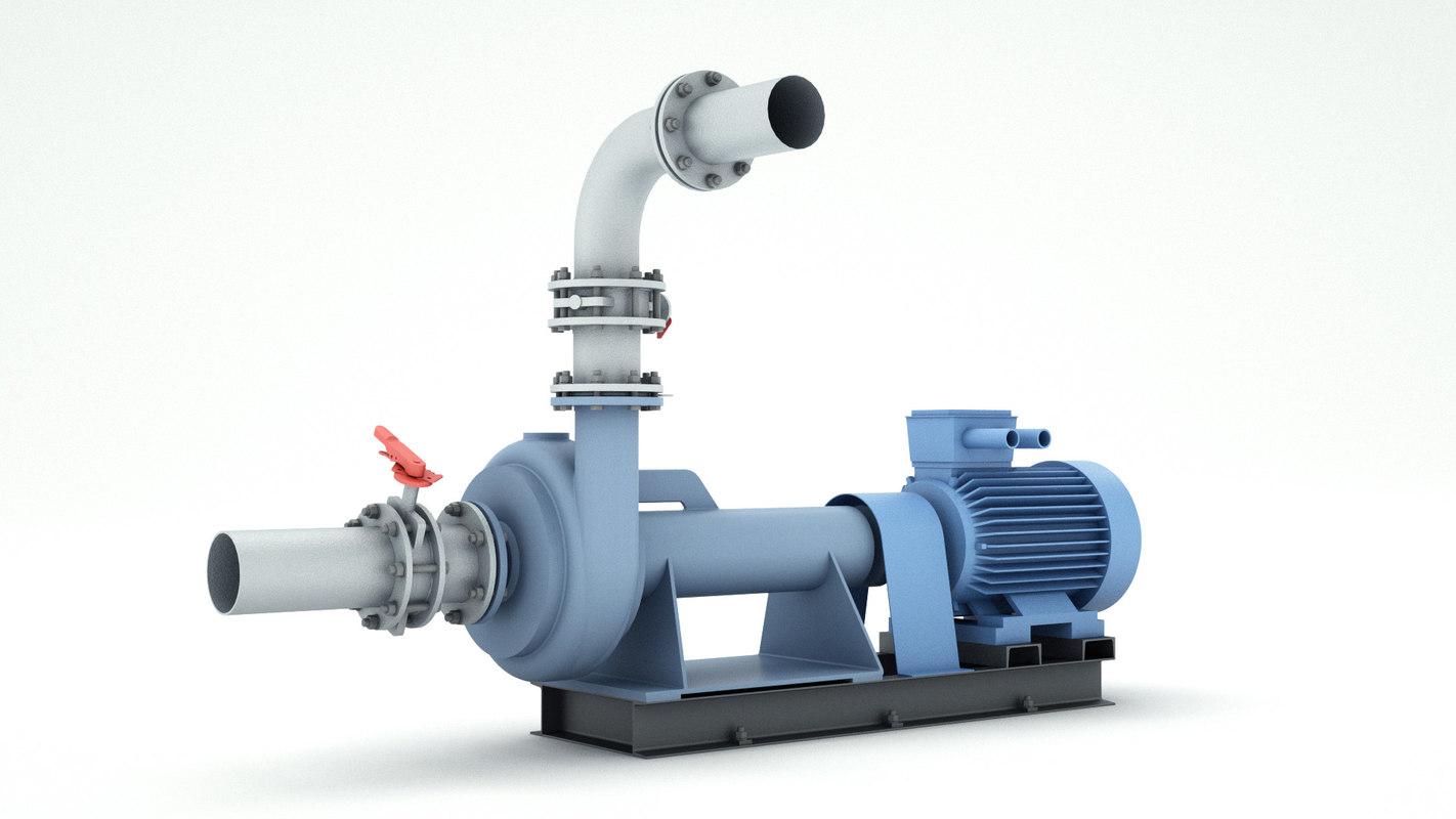 3D water pump