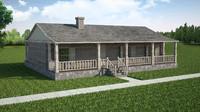 3D simple house