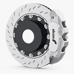 3D brakes alcon model