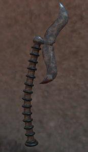 3D indian axe