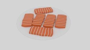 salmon platter model