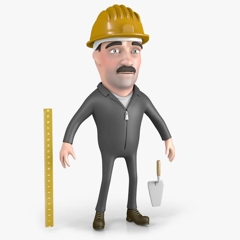 cartoon builder 3D