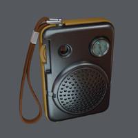 old radio model