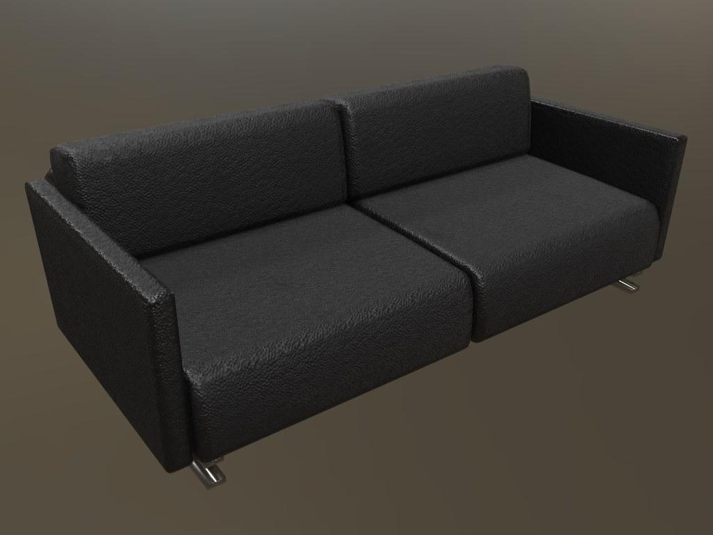 3D sofa gamedev unity3d model