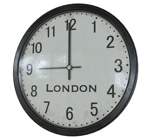 3D model office wall clock