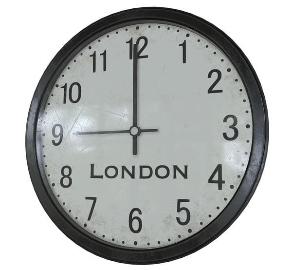 3D model office wall clock