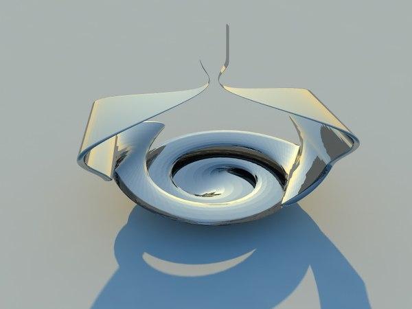 3D sculpture modern
