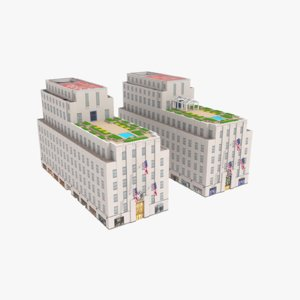3D 610 620 fifth avenue model