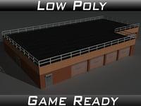 3D factory building 15