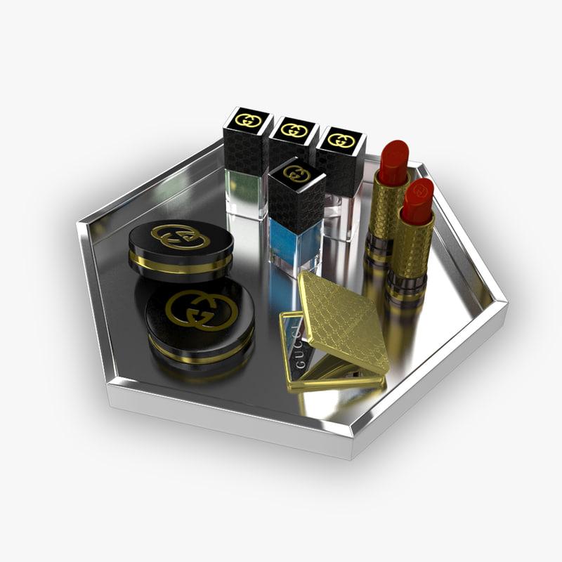 3D gucci makeup set