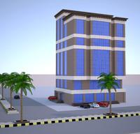 exterior design 3D model