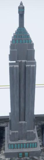 new york empire building 3D model