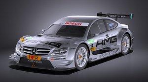 3D 2012 mercedes amg model