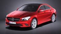 Mercedes-Benz CLA-class 2014 VRAY