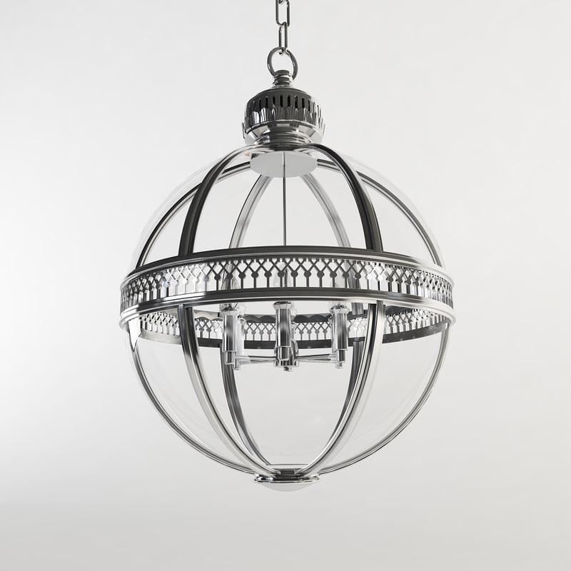 eichholtz residential lantern 3D model
