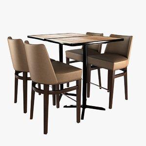 chair 2zero6 grant bar 3D model