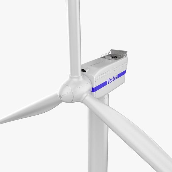 wind turbine vestas 3D