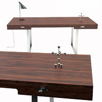 3D wegners table ch110 desk