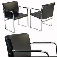 chair leather ch111 model