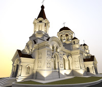 orthodox church 3D