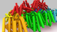 3D phycoeryrhrin model