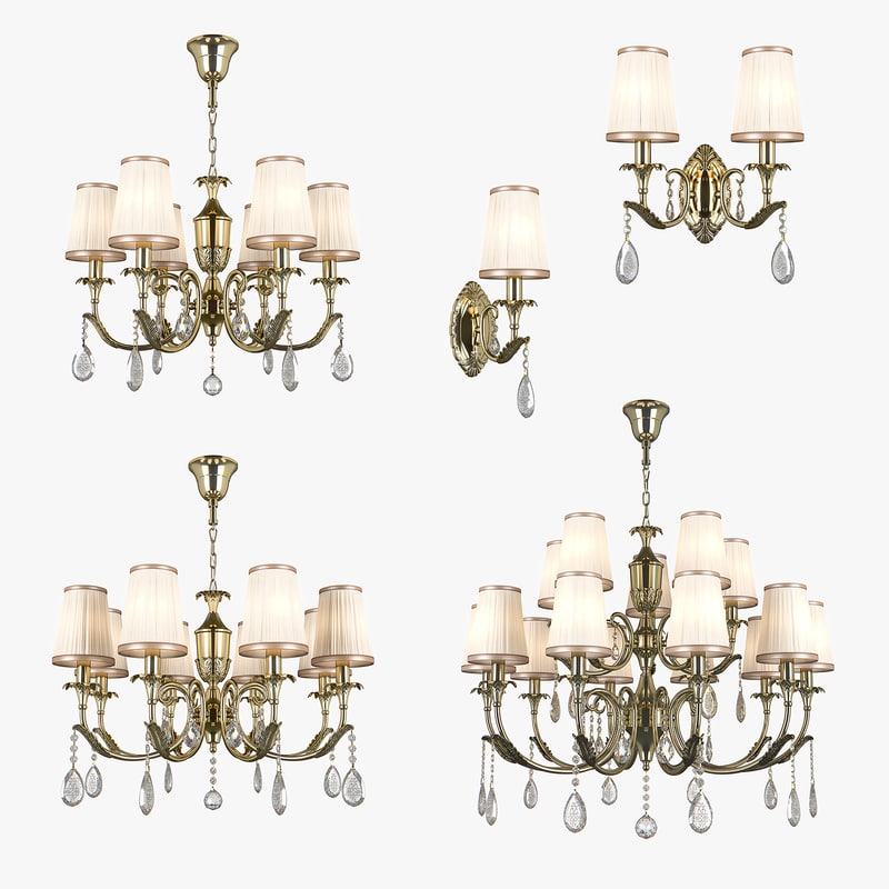 chandelier cappa osgona 3D model