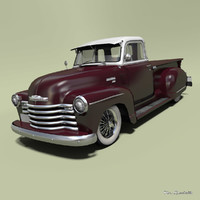 chevrolet 3100 customized model