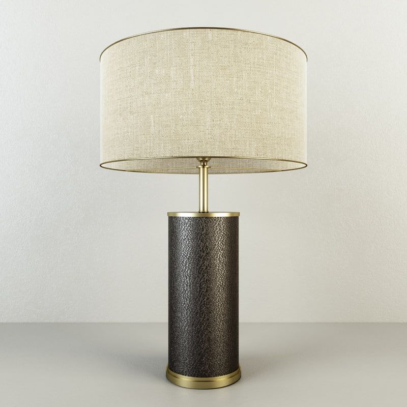 3D restoration delano shagreen cylinder model