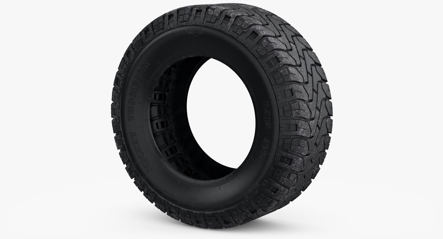 3D wheel mickey thompson