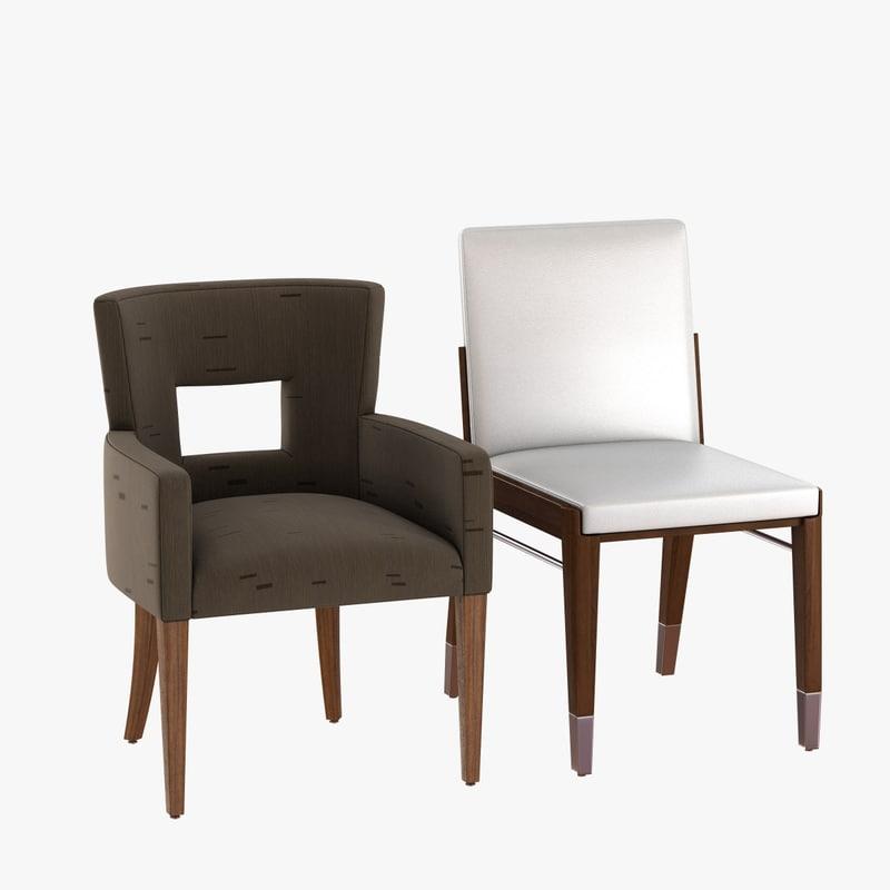 3D 2zero6 bardot rogue chair