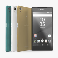 sony xperia z5 set 3D model