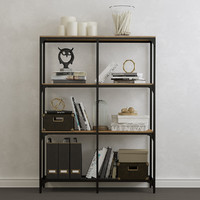 3D shelf unit fjallbo